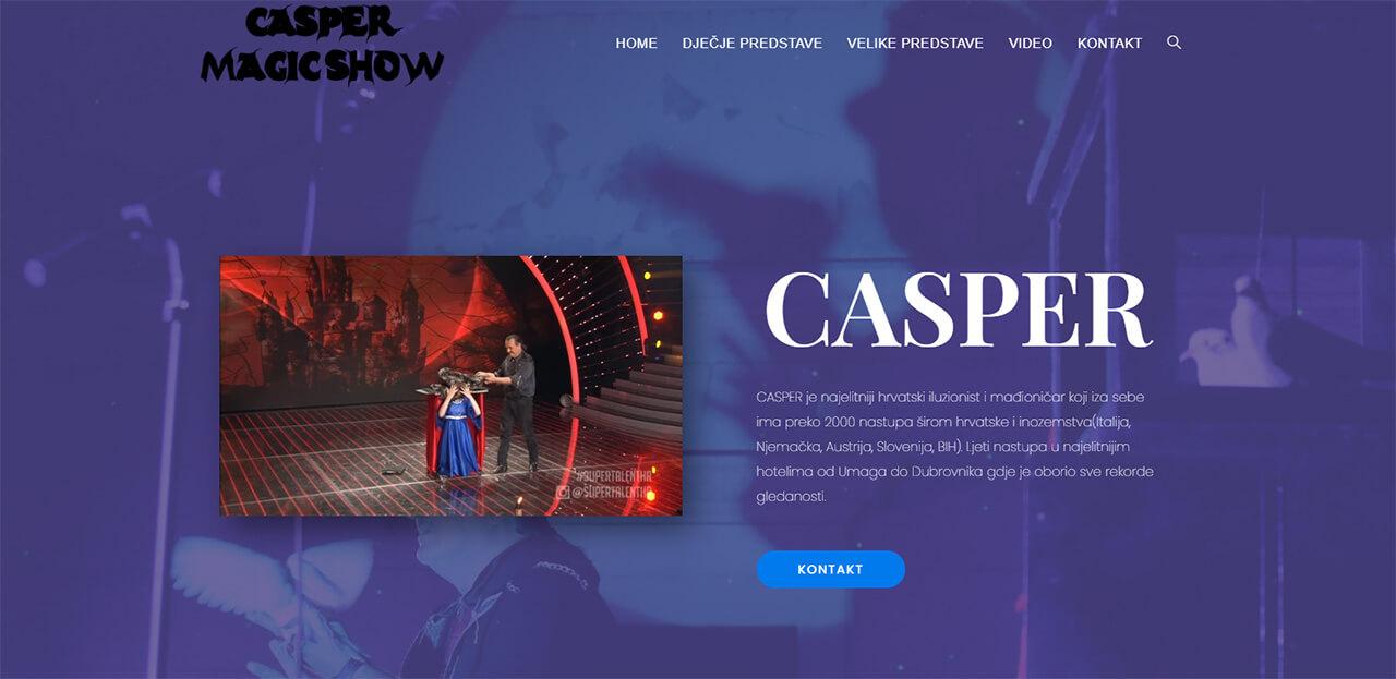 Casper Magic Web
